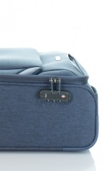Kabinový cestovní kufr D&N 7354-06 modrý č.8