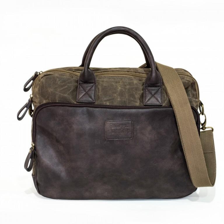 Pánská taška na notebook Avirex RJ90-02-hnědá