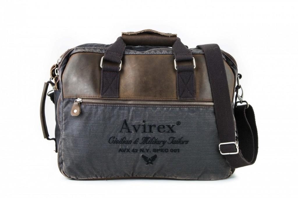 Pánská taška/batoh Avirex AVX-DDY-F09-A hnědá