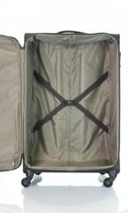 Velký cestovní kufr D&N 7674-03 hnědý č.6