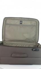 Velký cestovní kufr D&N 7674-03 hnědý č.7