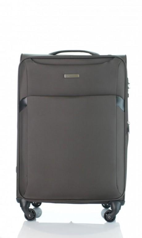 Střední cestovní kufr D&N 7664-03 hnědý