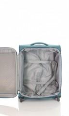 Kabinový cestovní kufr D&N 6454-16 petrolejový č.6