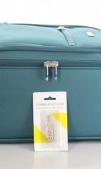 Kabinový cestovní kufr D&N 6454-16 petrolejový č.8