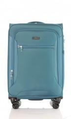 Střední cestovní kufr D&N 6464-16 petrolejový č.1
