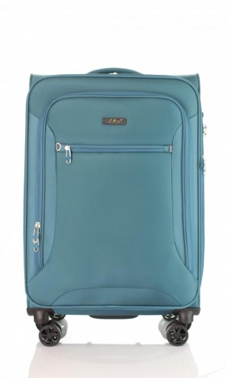 Střední cestovní kufr D&N 6464-16 petrolejový