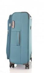 Střední cestovní kufr D&N 6464-16 petrolejový č.2