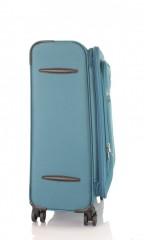 Střední cestovní kufr D&N 6464-16 petrolejový č.4
