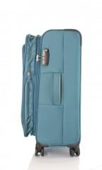 Střední cestovní kufr D&N 6464-16 petrolejový č.5