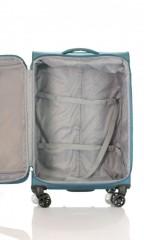 Střední cestovní kufr D&N 6464-16 petrolejový č.7