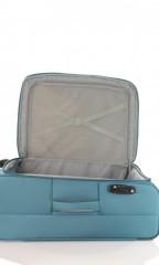 Střední cestovní kufr D&N 6464-16 petrolejový č.8