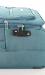 Střední cestovní kufr D&N 6464-16 petrolejový č.9