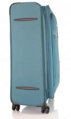 Velký cestovní kufr D&N 6474-16 petrolejový č.4