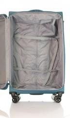 Velký cestovní kufr D&N 6474-16 petrolejový č.6
