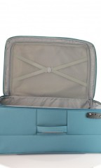 Velký cestovní kufr D&N 6474-16 petrolejový č.7