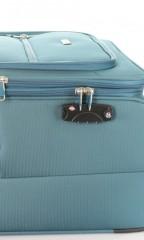 Velký cestovní kufr D&N 6474-16 petrolejový č.8