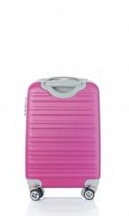 Kabinový cestovní kufr D&N 9450-04 růžový č.3