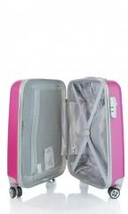 Kabinový cestovní kufr D&N 9450-04 růžový č.6