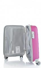 Kabinový cestovní kufr D&N 9450-04 růžový č.7