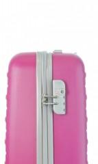 Kabinový cestovní kufr D&N 9450-04 růžový č.9