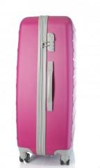 Velký cestovní kufr D&N 9470-04 růžový č.2