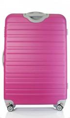 Velký cestovní kufr D&N 9470-04 růžový č.3