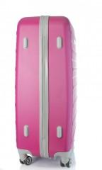 Velký cestovní kufr D&N 9470-04 růžový č.4