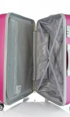 Velký cestovní kufr D&N 9470-04 růžový č.5