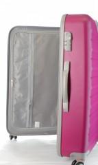 Velký cestovní kufr D&N 9470-04 růžový č.6
