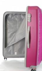 Velký cestovní kufr D&N 9470-04 růžový č.7