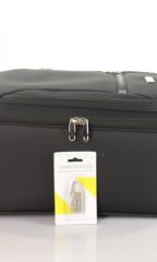 Kabinový cestovní kufr D&N 6454-11 černý č.6
