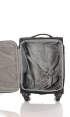 Kabinový cestovní kufr D&N 7654-01 černý č.6