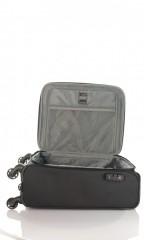Kabinový cestovní kufr D&N 7654-01 černý č.7