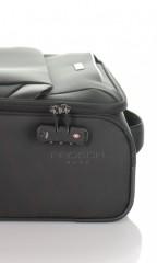 Kabinový cestovní kufr D&N 7654-01 černý č.8