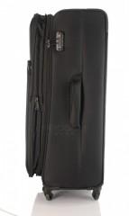 Velký cestovní kufr D&N 7674-01 černý č.5