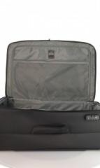Velký cestovní kufr D&N 7674-01 černý č.7