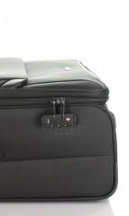 Velký cestovní kufr D&N 7674-01 černý č.8