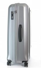 Velký cestovní kufr D&N 8170-13 stříbrný č.2