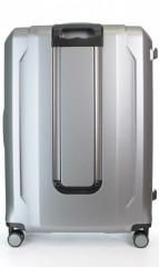 Velký cestovní kufr D&N 8170-13 stříbrný č.3