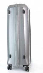 Velký cestovní kufr D&N 8170-13 stříbrný č.4
