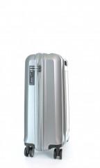 Kabinový cestovní kufr D&N 8150-13 stříbrný č.2