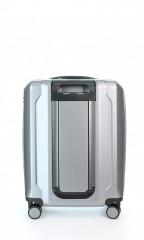 Kabinový cestovní kufr D&N 8150-13 stříbrný č.3