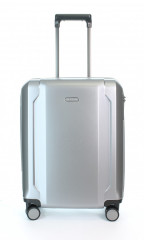 Kabinový cestovní kufr D&N 8150-13 stříbrný č.5