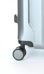 Kabinový cestovní kufr D&N 8150-13 stříbrný č.8