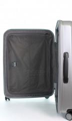 Kabinový cestovní kufr D&N 8150-13 stříbrný č.9