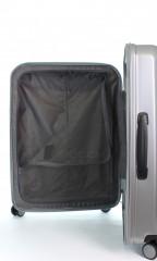 Kabinový cestovní kufr D&N 8150-13 stříbrný č.10