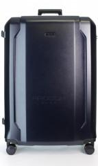 Velký cestovní kufr D&N 8170-06 tmavě modrý č.5
