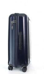 Střední cestovní kufr D&N 8160-06 tmavě modrý č.2