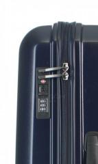 Střední cestovní kufr D&N 8160-06 tmavě modrý č.6