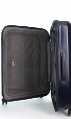 Střední cestovní kufr D&N 8160-06 tmavě modrý č.8